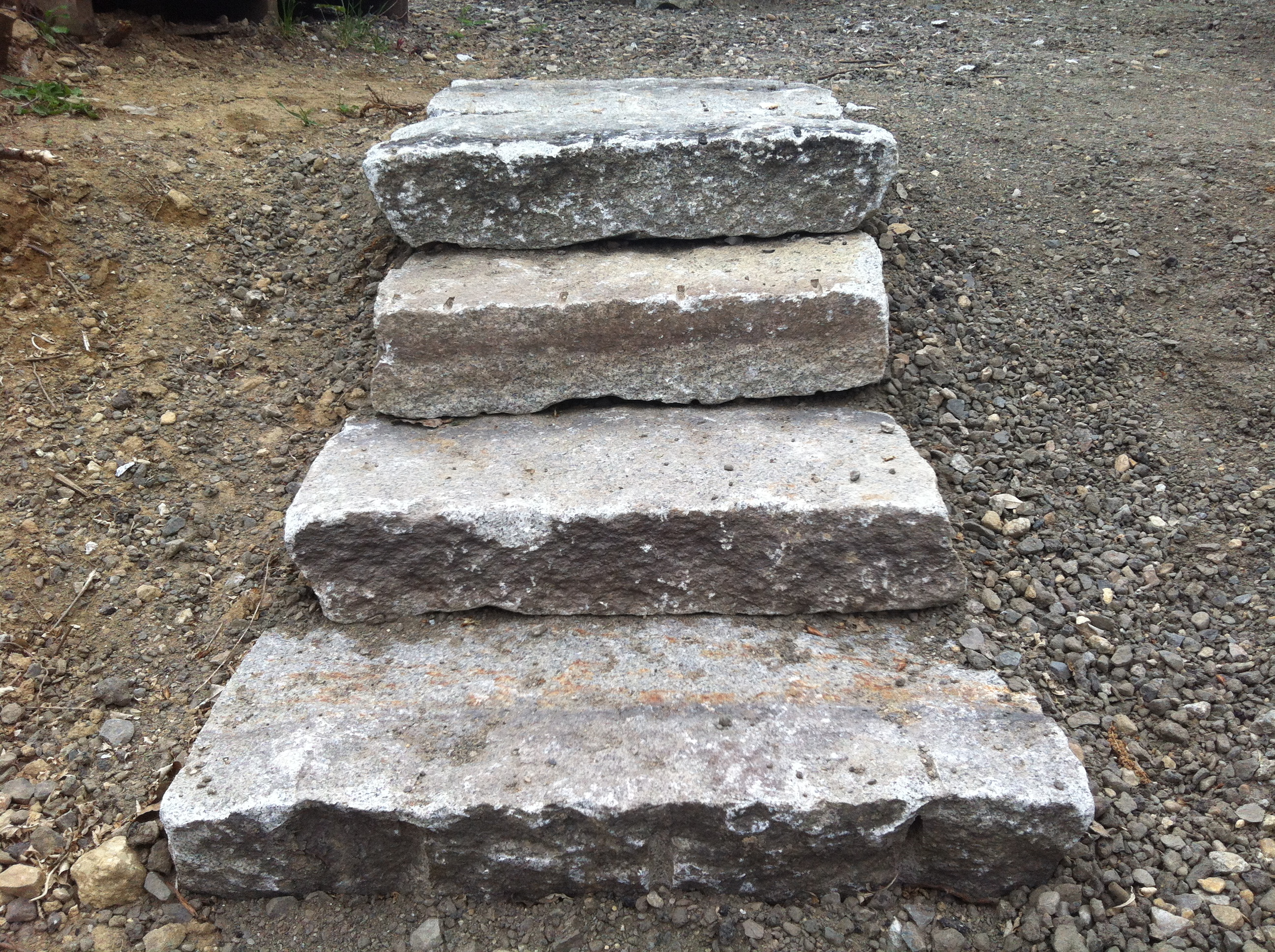 Granite Stepping Stones : Granite stepping stones stone of new england